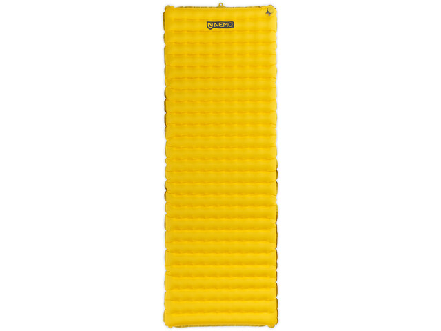 NEMO Tensor Sleeping Pad Regular Wide elite yellow